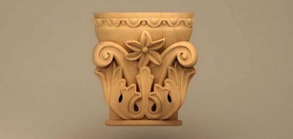 ستون های چوبی
