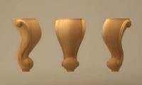 پایه چوبی میز کنسول