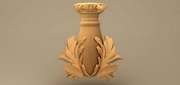 گلدون چوبی