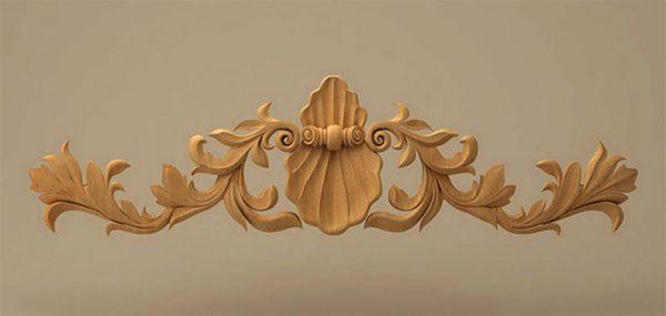 تاج چوبی کابینت