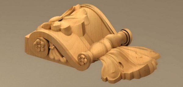 منبت چوب آماده نصب