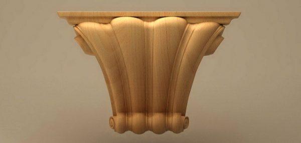 قیمت ستون چوبی