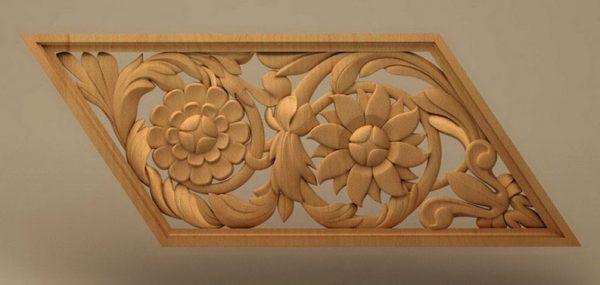 تابلو گل چوبی 2022